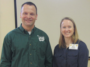 John Roosa of the 4H Center with amy pollard
