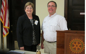Mary Youngblood and Kevin Zatow