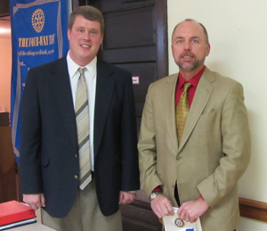 Pres dan with troy thompson