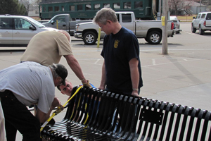 bench builders_jeff anderson showing off his pipes